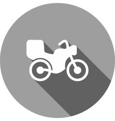 Motor Bike vector image