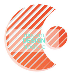 abstract logo icon isolated point logo web vector image