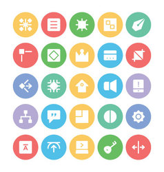Design and development icons 10 vector
