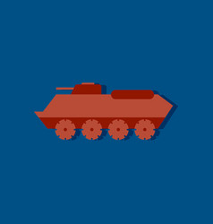 Flat icon design collection military personal vector