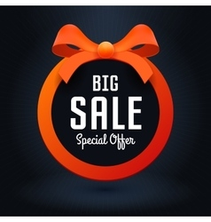 for business Big sale banner vector image