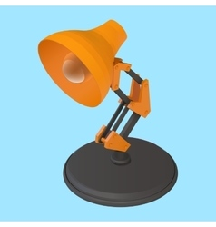 reading desk lamp isometric vector image