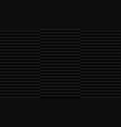 Seamless brushed aluminum black colors texture vector