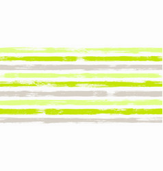 Smeared watercolor brush stripes seamless vector