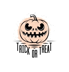 Trick or treat sign vector