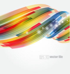Abstract bright colorful background vector image