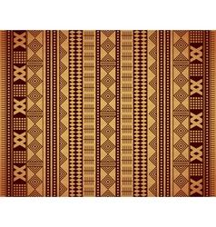 African texture vector image vector image