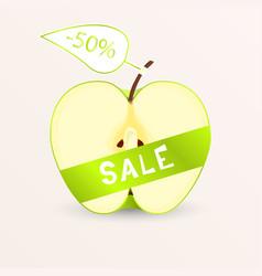 Apple sale vector
