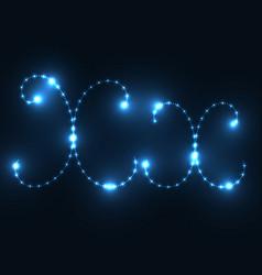 Glow abc vector
