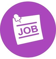 Jobs vector image