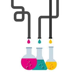 laboratory icon vector image