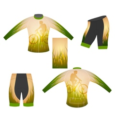 Long sleeve t-shirt vector