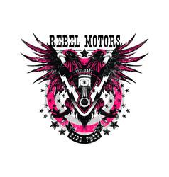 Rebel motors vector