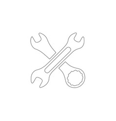tool flat icon vector image