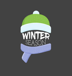 winter sale labels and banner web banners vector image