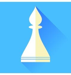 Bishop Chess Icon vector image
