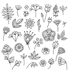 doodles vector image vector image
