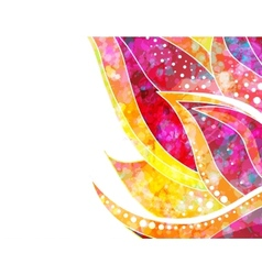 abstract floral background EPS 10 vector image