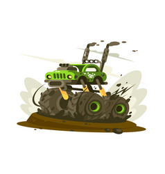 suv monster truck vector image