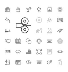 33 concept icons vector