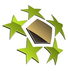 3d shiny element vector