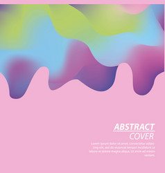 abstract covers fluids vector image