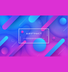 abstract dynamic blue pink purple background vector image