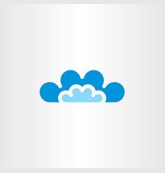 Clouds icon symbol sign vector