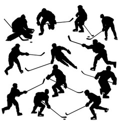 Ice Hockey Goalie Silhouette Vector Images Over 370