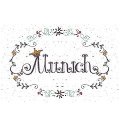 Munich logotype vector