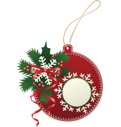 paper bauble vector image