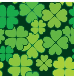 Patrick's day abstract seamless background vector image vector image