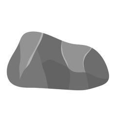 Rock stone icon vector