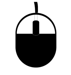 Simple computer mouse vector