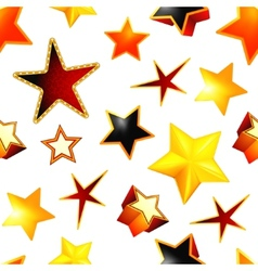 Stars seamless background vector image