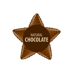 Logo chocolate vector