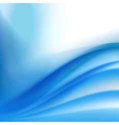 abstract blue folding background vector image