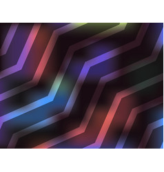 abstract colorful chevron pattern background vector image