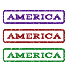 America watermark stamp vector