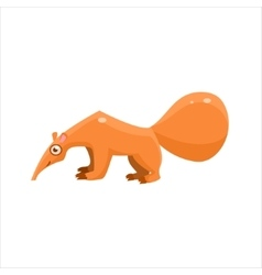 Anteater From The Side vector