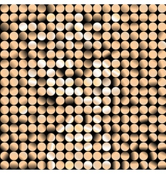 mosaic dotted banner vector image