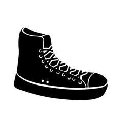 sneaker sport fashion trendy cartoon vector image