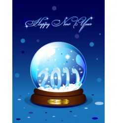 new year 2011 card vector image vector image