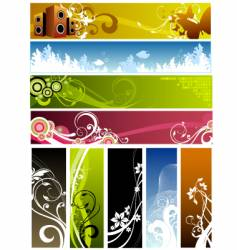 floral graphic backgrounds vector image vector image