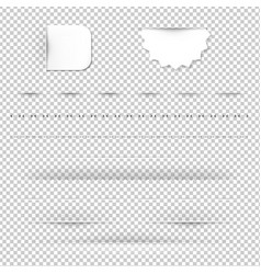 dividers vector image
