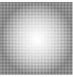 abstract black and white dotted halftone vector image