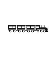 Compartment train icon simple style vector