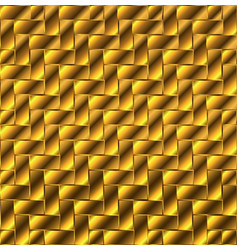 Gold block flooring vector