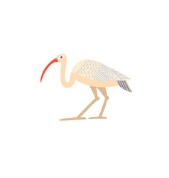 hand drawing icon ibis - egyptian god vector image