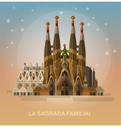 La Sagrada Familia - the vector
